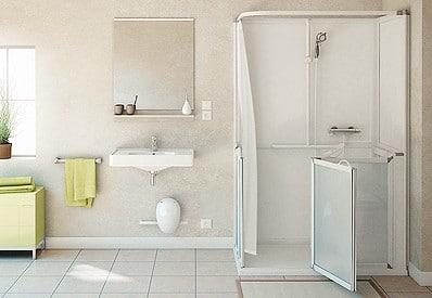 Salle de bain pour personnes en situation de handicap