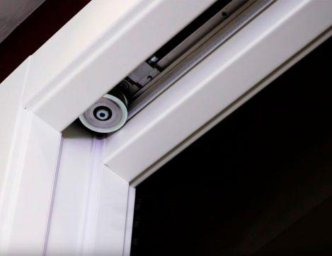 Détail du kit de motorisation des portes fenêtres