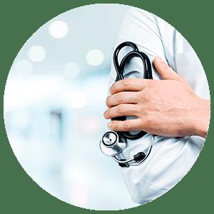 Médecin d'un cabinet médical