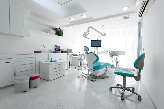 Salle de consultation d'un dentiste